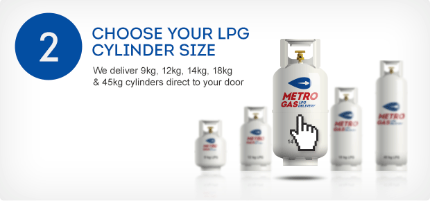 Choose your LPG Gas cylinder